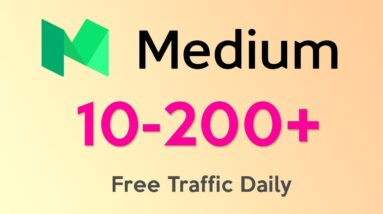 How to Use Medium to Drive Traffic - Create a FREE Medium Account to Get Free Traffic to Your Blog