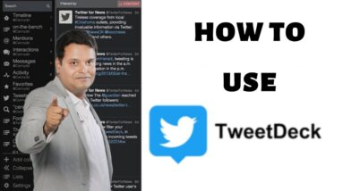 Tweetdeck Tutorial Beginners | Social Media Monitoring | Twitter Tools