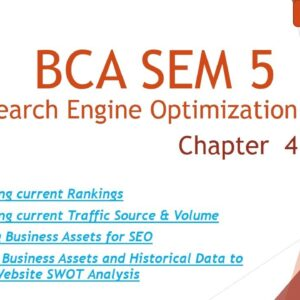 BCA SEM 5 l Search Engine Optimization Techniques l Chap 4 l Topic 9,10,11  l Lecture 10 l Amit Sir