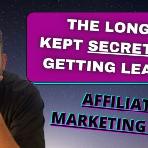 The Secret to Getting More Leads To Your Funnels- Affiliate Marketing 2021 (BEGINNER FRIENDLY)