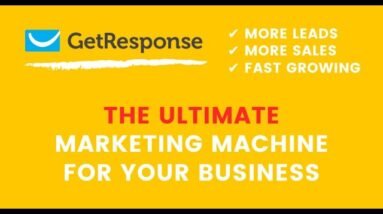 GetResponse - The ultimate marketing tool for business growing, more leads and more sales - 2021