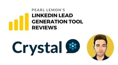 Crystal Review For LinkedIn Lead Generation | Pearl Lemon Official