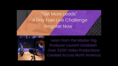 Generate More Leads 4 Day Challenge for Creative Freelancers 2021
