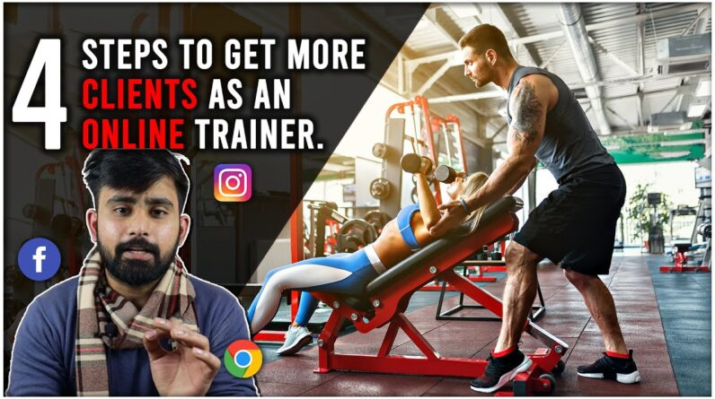 Get more Personal Training Clients Online | Complete Guide in 4 Steps