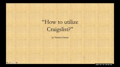 HOW TO GET LEADS FROM CRAIGSLIST by Vanessa Garcia