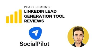 SocialPilot Review For LinkedIn Lead Generation Tool | Pearl Lemon Official