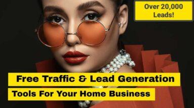 lead generation tools & free website traffic 2020/2021 - get website traffic & lead generation tips