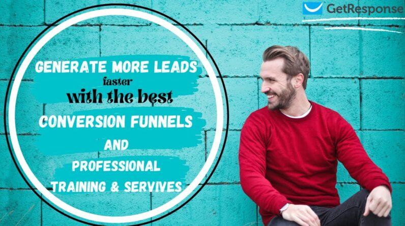 How to Generate More Leads With GetResponse Conversion Funnel | Online Marketing Tips