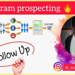 Instagram prospecting Tips🔥| Tips lead generate |👉 Get more leads 🔥🔥| short time me convert leads 😍🔥