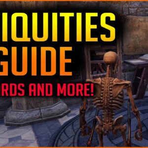 Antiquities Guide. How to get Leads, Mythic Items, Scrying, Excavation and more! Greymoor ESO