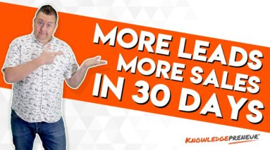 More Leads. More Sales. With Online Courses and Online Training